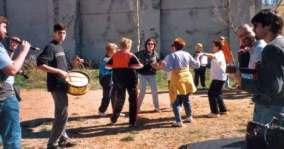 Bailando a los sones de Fagüeño
