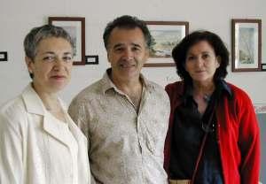 Josefina Martínez, Rafael Arribas y  Teresa Morales
