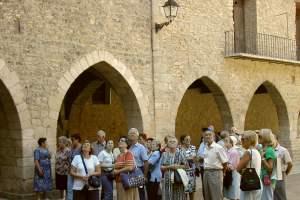 Un grupo en Cantavieja