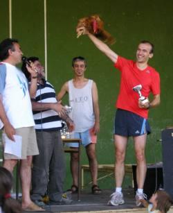 El ganador local, Pedro!!!!