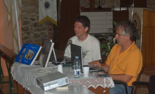 La charla sobre las presas, de Carlos Blázquez nos infundieron ganas de viajar