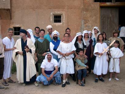 """Casi todos los intérpretes e la obra """"El Cid no pasó por aquí"""""""