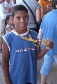 Niños de otras latitudes grandemente ilusionados con su participación