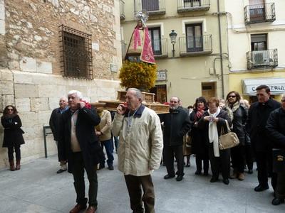 Miguel Pérez Sanz nos envía estas preciosas fotografías de la romería en Teruel