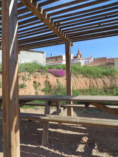 Vivienda rural de Blesa (exterior)