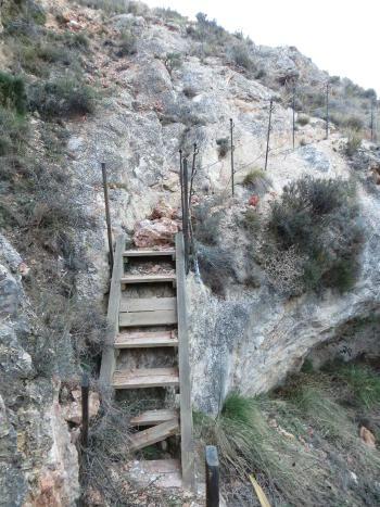 Blesa un lugar en el mundo gaceta de blesa for Escaleras 45 grados