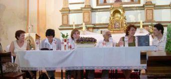 Presentación del libro sobre el patrimonio de Blesa, en la iglesia parroquial