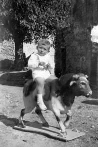 Fotografia [A00574] Nino Con Juguete 1955 (Cedida por Facundo Serrano Y Manuela Arnal