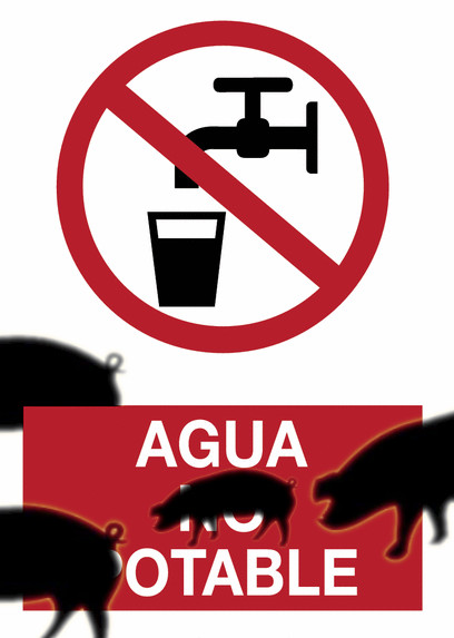 Agua no potable por nitratos