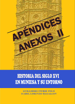 Portada del apéndice documental segundo